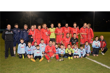 League Cup win Aprl 2015