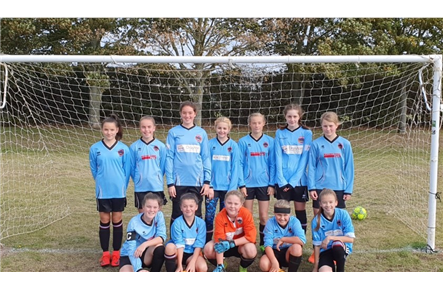 Girls Under 13s September 2019