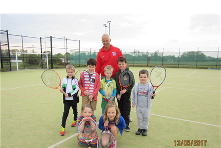 Tennis for Kids coaching course attendees May17